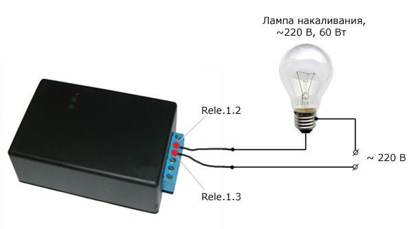 USB реле Senegal, схема